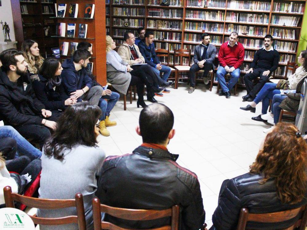 Bisedë e lirë pas prezantimeve të Klubit të Librit